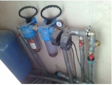 Монтаж водоснабжение